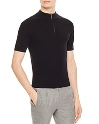 Sandro Racer Sweater Black