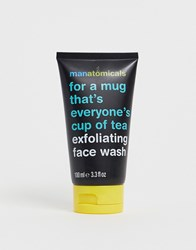 Manatomicals Exfoliating Face Wash 100Ml No Color