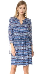 Shoshanna Ralston Dress Navy Multi