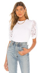 Generation Love Hillary Blouse In White.