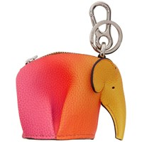 Loewe Orange Elephant Spray Keychain