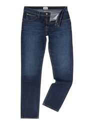 Tommy Hilfiger Scanton Medium Wash Mid Rise Jeans Mid Blue