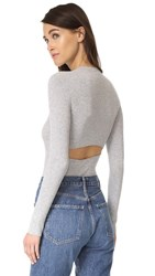 360 Sweater Casia Pullover Heather Grey