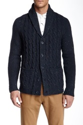 Wesc Obama Knit Cardigan Blue