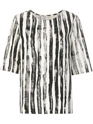 Toogood Printed Short Sleeved Top Nude And Neutrals