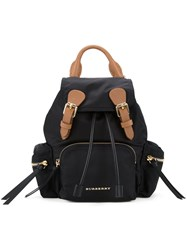 Burberry Multi Zip Pocket Backpack Black