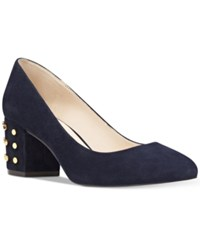 Nine West Cerys Dress Pumps Women's Shoes Navy