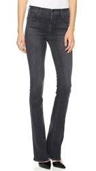 J Brand 8017 Remy High Rise Boot Cut Jeans Transmission