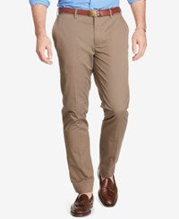 Polo Ralph Lauren Men's Big And Tall Classic Fit Stretch Chino Pants Brown
