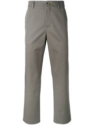 Golden Goose Deluxe Brand Classic Chinos Men Cotton S Grey