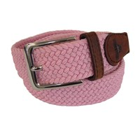 Tyler And Tyler Woven Belt Pink Pink Purple