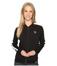 Puma Archive Logo T7 Track Jacket Cotton Black Women's Coat