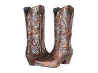 Ariat Heritage Western X Toe Sassy Brown Cowboy Boots