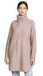 Minkpink Lesley Tunic Sweater Taupe