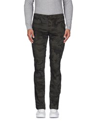 Camouflage Ar And J. Trousers Casual Trousers Men Steel Grey