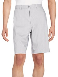 Callaway Micro Windowpane Check Shorts High Rise