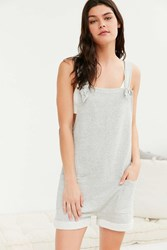 Out From Under Too Cute For You Romper Grey