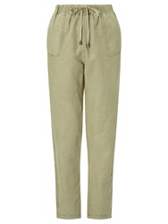 John Lewis Collection Weekend By Drawstring Waist Chino Stone