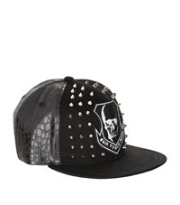 Philipp Plein You Better Go Studded Cap Unisex Black