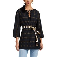 Ace And Jig Cove Checked Cotton Tunic Black