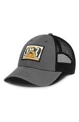The North Face Men's 'Mudder' Trucker Hat Grey Graphite Grey Summit Gold