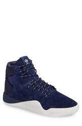 Adidas Men's Tubular Instinct Sneaker Dark Blue Vintage White
