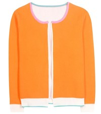 81 Hours Loop Wool Cardigan Orange