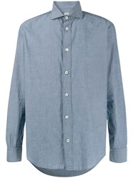 Eleventy Buttoned Semi Fitted Shirt 60