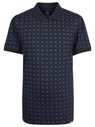 Pretty Green Carville Polo Shirt Navy