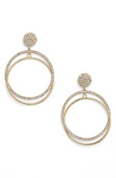 Kate Spade Women's New York 'Ring It Up' Drop Hoop Earrings