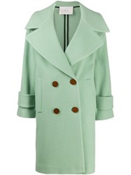 Tela Double Breasted Fitted Coat 60
