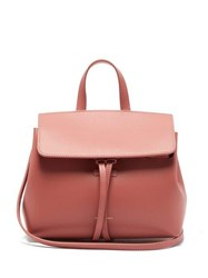Mansur Gavriel Mini Mini Lady Leather Cross Body Bag Light Pink