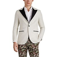 Sartorio Pg Silk Blend One Button Sportcoat Beige Tan