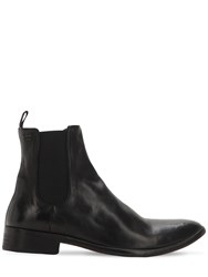 The Last Conspiracy Shane Leather Chelsea Boots Black