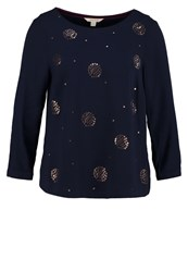 White Stuff Star Blouse Eccentric Blue