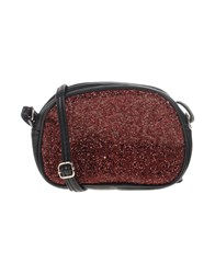 Studio Moda Handbags Maroon