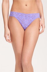 Women's Hanky Panky Original Rise Thong Purple Electric Orchid