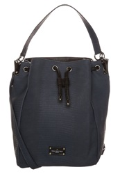 Paul's Boutique Hattie Handbag Tonal Snake Range Dark Blue