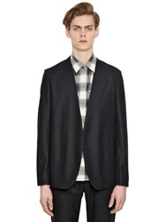 Maison Martin Margiela Heavy Wool Flannel Cardigan Jacket