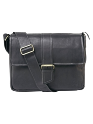 Tog 24 Marlow Leather Holdall Black