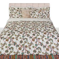 Etro Sheridan Quilted Bedspread Ivory