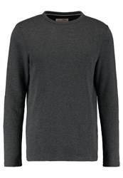 Tom Tailor Denim Basic Crewneck Sweatshirt Dusyt Black
