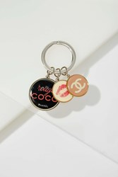 Nasty Gal Vintage Chanel Rouge Charm Key Ring