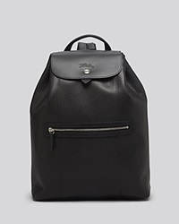 Longchamp Backpack Veau Foulonne Black