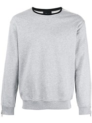 3.1 Phillip Lim Crew Neck Sweatshirt Grey