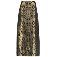Sania Studio Gold Brocade Long Skirt