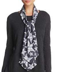 Lola Rose Butterfly Stars Scarf 100 Exclusive Gray