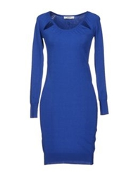 Guess By Marciano Short Dresses Azure