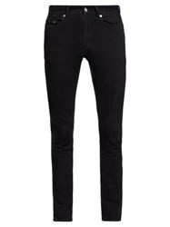 Saint Laurent Skinny Leg Jeans Black