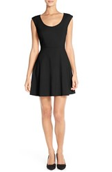 Women's French Connection 'Whisper Light' Woven Fit And Flare Dress